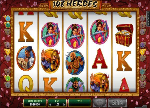 108 Heroes Spielautomat
