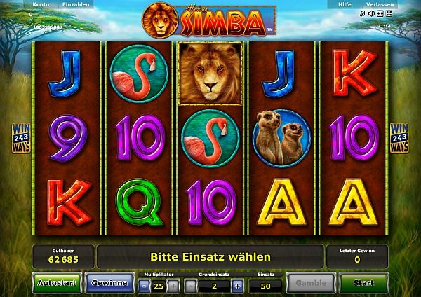 African Simba Slots - Novomatic Casino Spiele Kostenlos Spielen