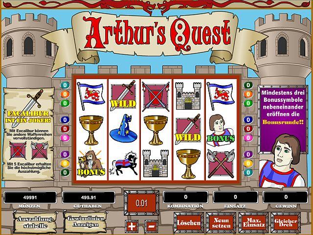 Arthurs Quest online spielen bei Mybet