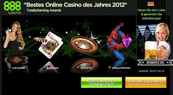 online casino 888  kostenlos spielen
