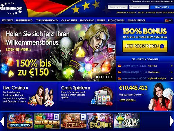 Casino Euro Bonusaktion