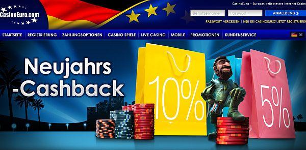 Casino Euro Cashback