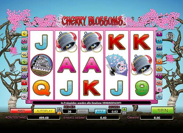 Cherry Blossoms online spielen im Mybet Casino