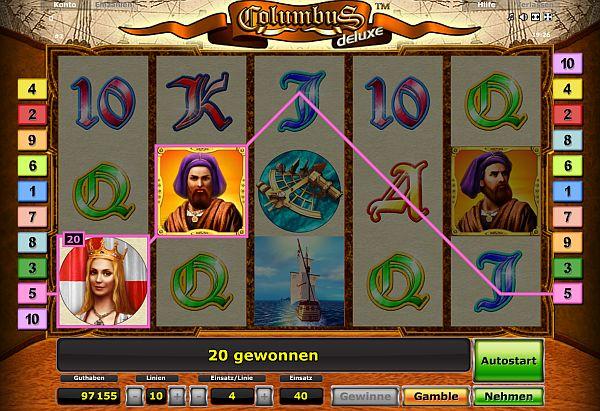 Columbus Deluxe spielen kostenlos ohne Anmeldung