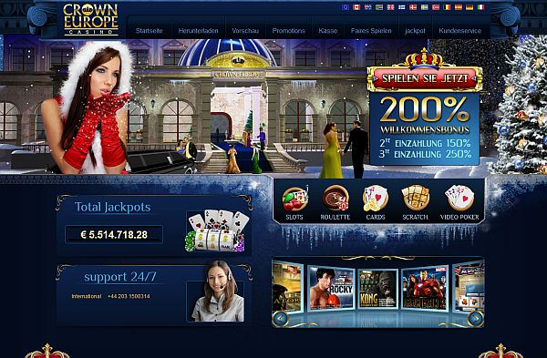 Spielen im Crown Europe Casino
