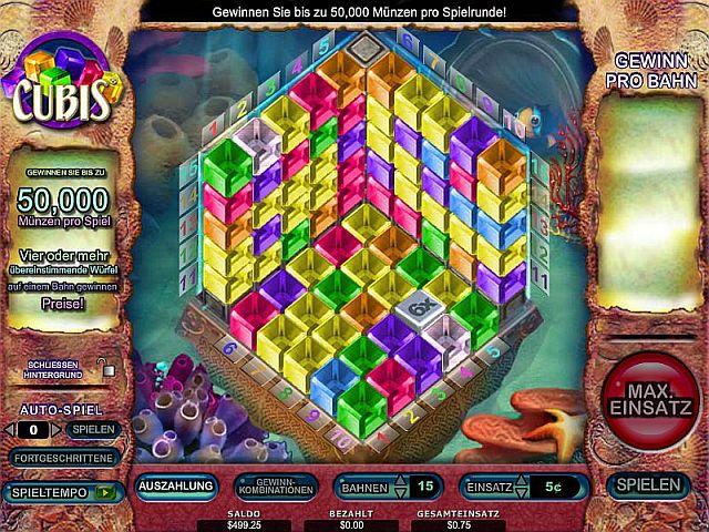 Cubis Casino Spiel