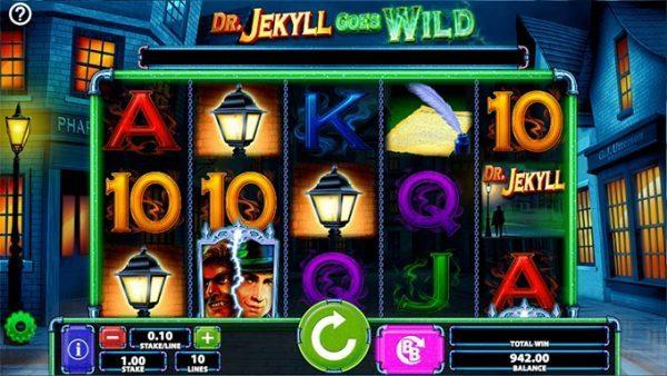 Dr. Jekyll goes Wild Slot Vorschau