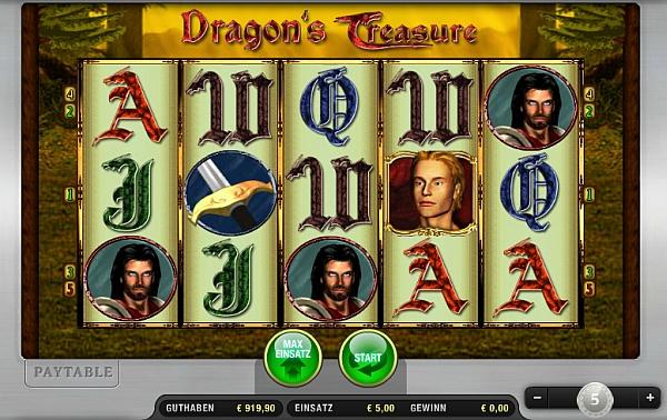 dragon treasure kostenlos spielen