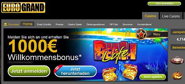 euro online casino anmeldungs spiele