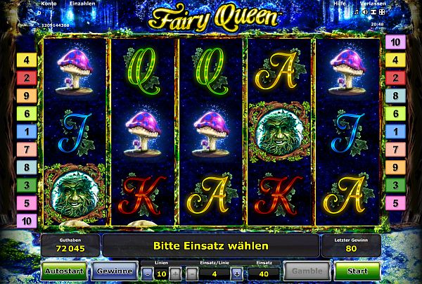 fairy queen spielen