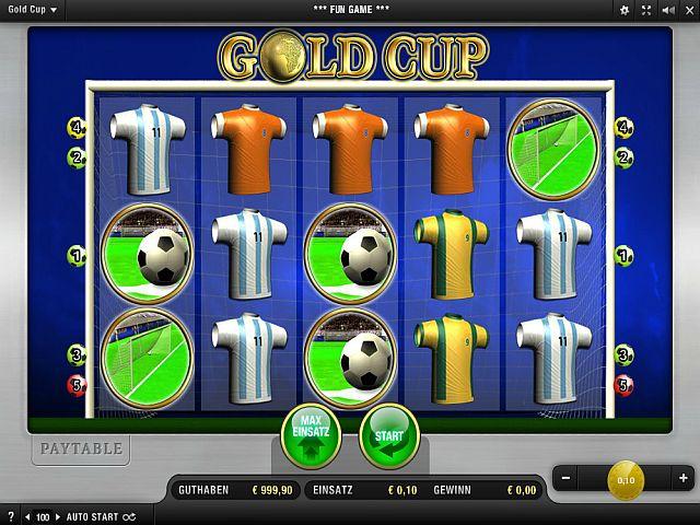 Gold Cup – ein Fußball Slot der Extraklasse
