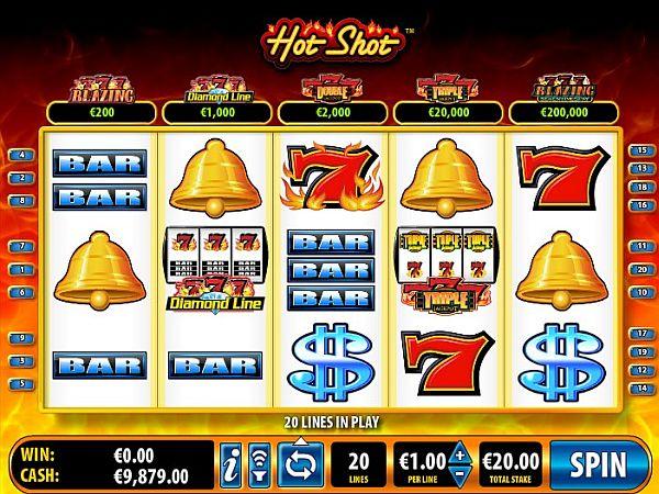 Hot Shot Spielautomat - Ein wunderbarer klassischer Slot