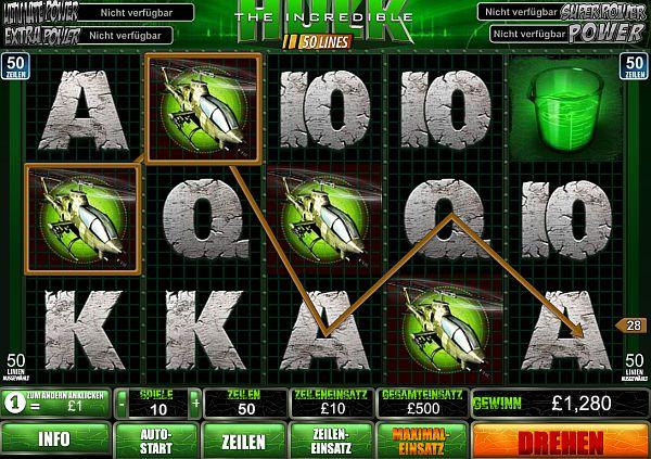 Incredible Hulk kostenlos spielen