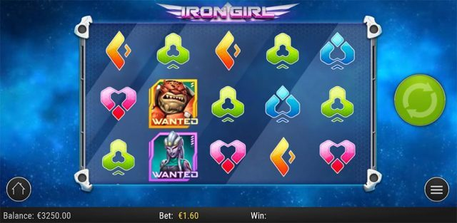 Iron Girl Slot Vorschau