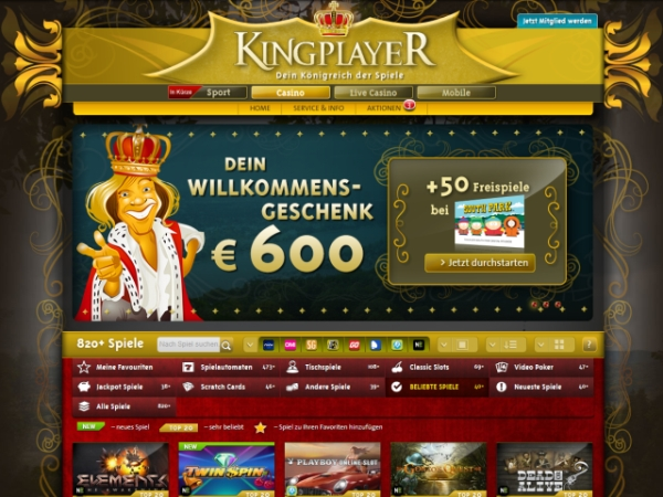 casino online list spielen king
