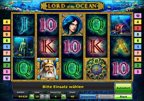 casino online free lord of ocean