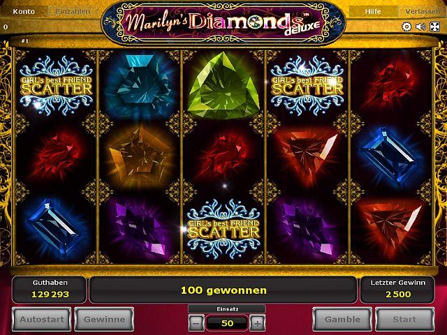 Marilyns Diamonds Deluxe spielen