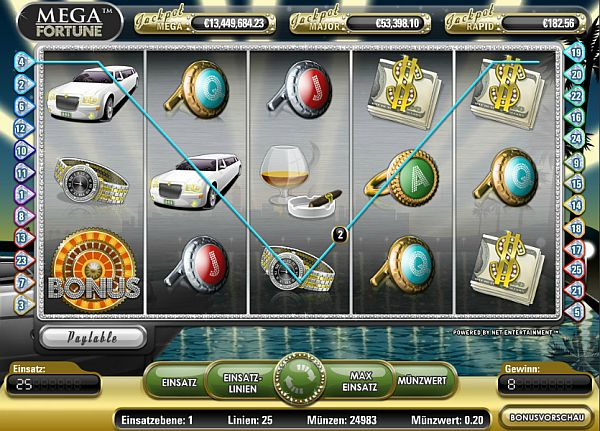 Mega Fortune - jetzt Jackpot knacken