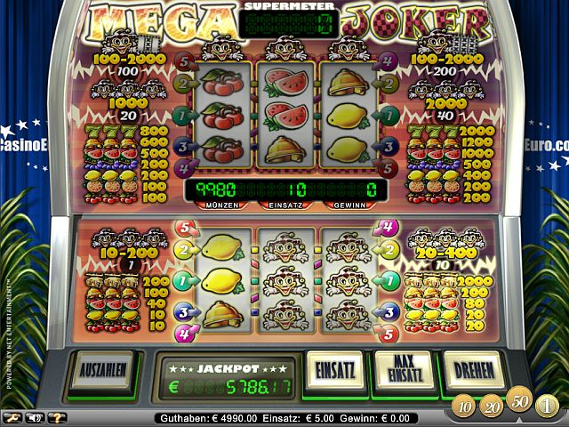 casino online spielen kostenlos mega joker