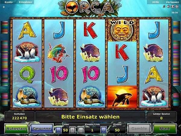 free casino online orca auge