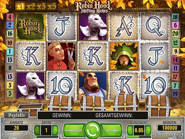 Robin Hood Spielautomat