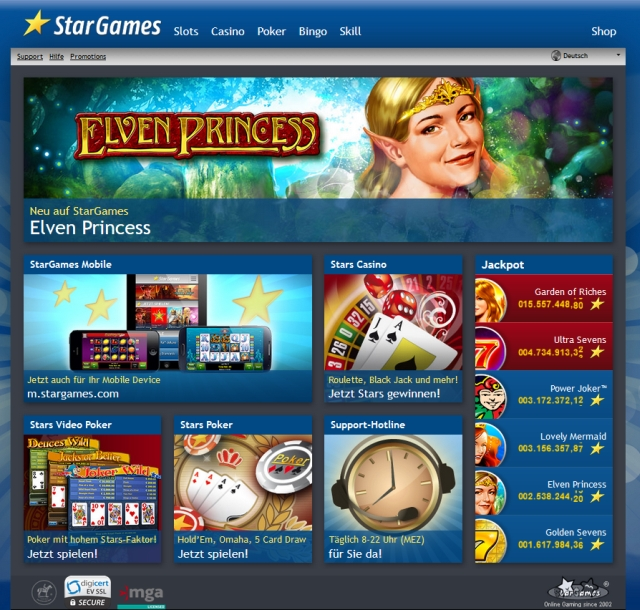 Loss of connection in casino single player games | StarGames Casino