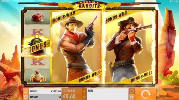 Sticky Bandits Spielautomat