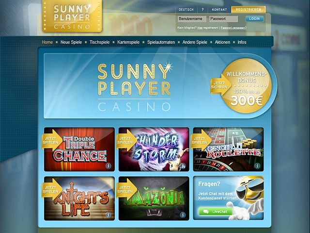 sunmaker oder sunnyplayer