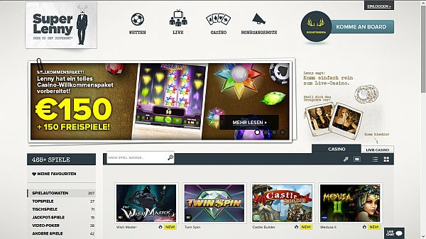 Superlenny Casino