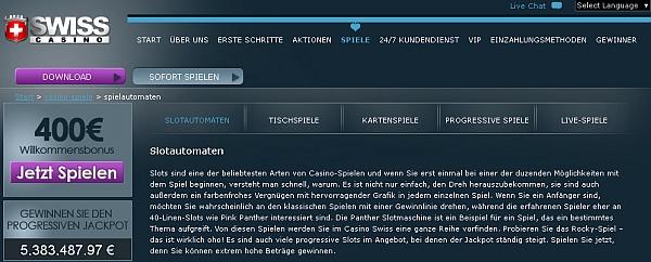 swiss casino online kostenlos spielen deutsch