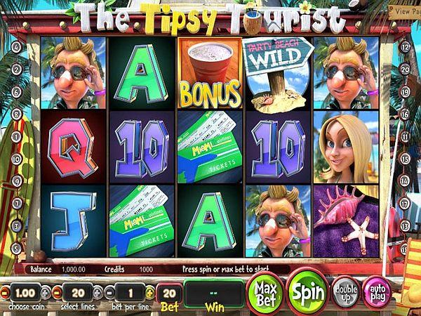 the tipsy tourist spielen