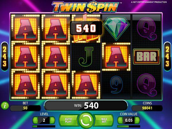 Twin Spin Spielautomat
