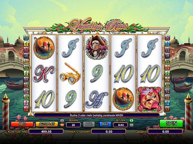Venezia dOro Spielautomat - Online-Casino-Spiel gratis spielen