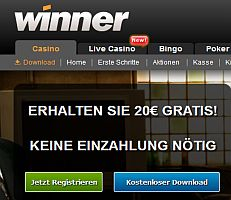 Winner Casino No-Deposit